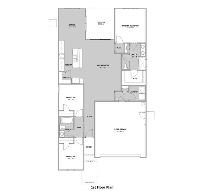 D.R. Horton Palo Verde Ridge Zoe - Plan 3510 Floor Plan