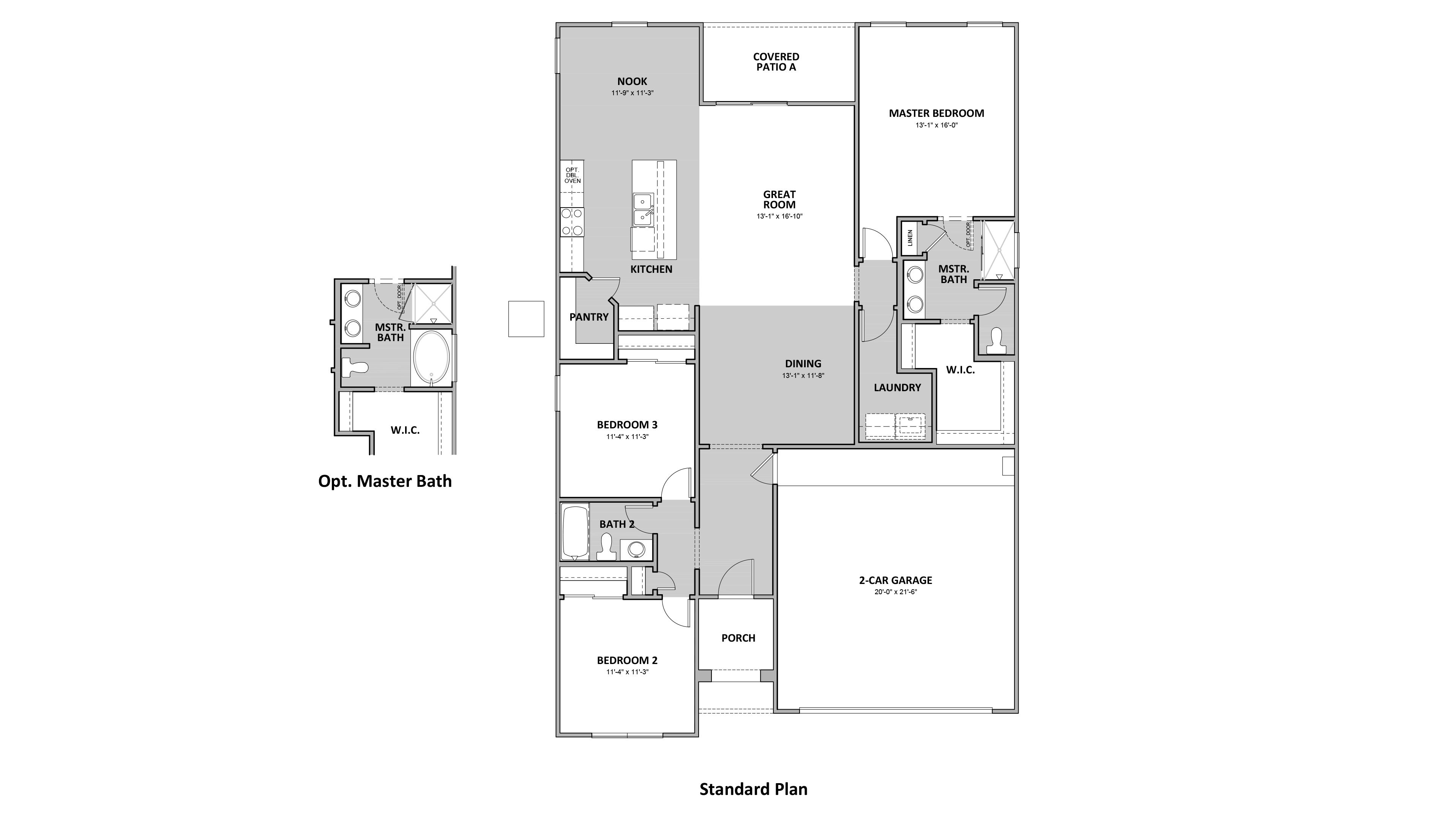 D.R. Horton Hardy Estates Madera - 4038 Floor Plan