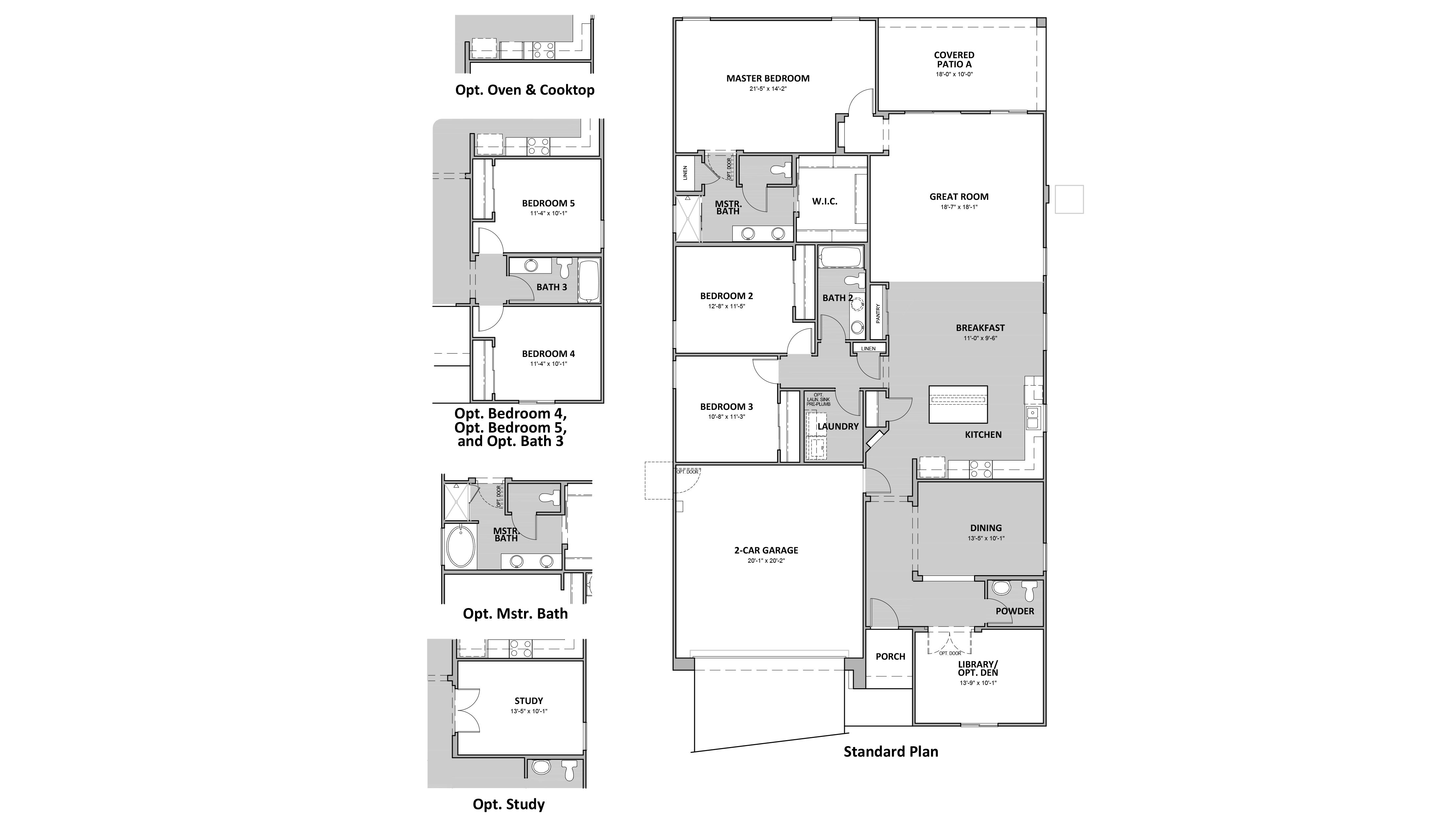 D.R. Horton Hardy Estates Prato - 4065 Floor Plan