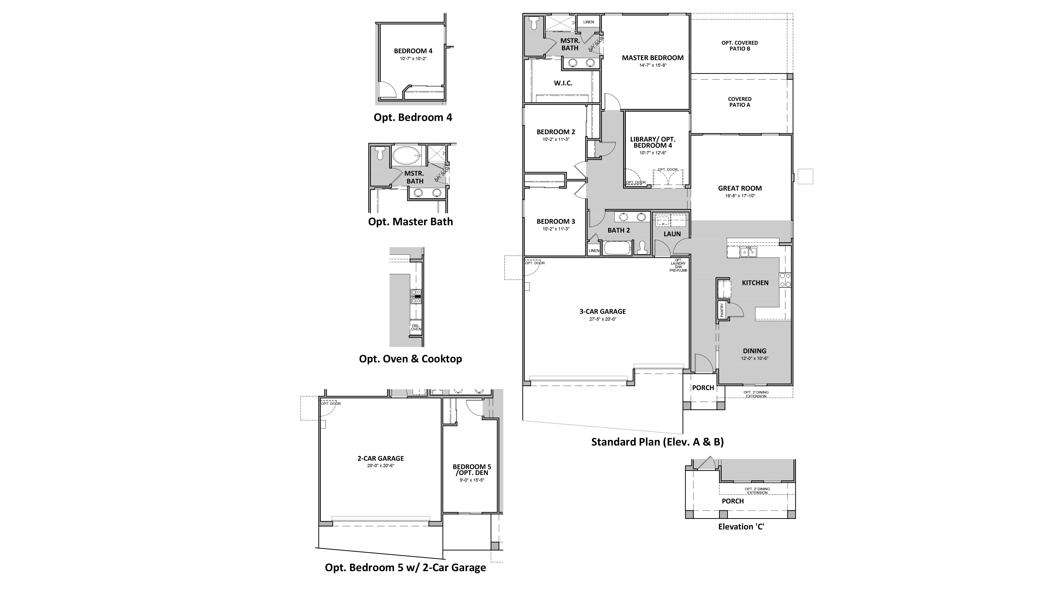 D.R. Horton Hardy Estates Catalonia - 4511 Floor Plan