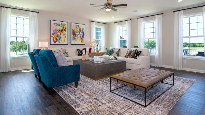 Westport Homes Living Room
