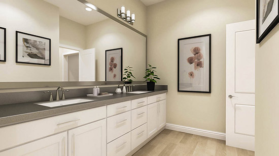 The Residences at Anson - Master Bathroom