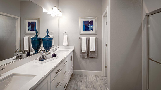 Monarch Residence - Master Bathroom