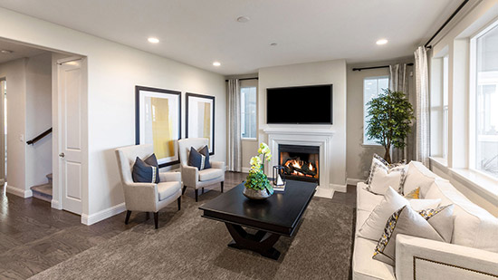 The Residences - Living Room