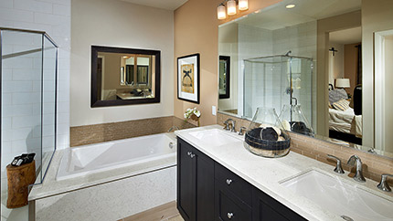 Stand alone shower exall townhomes