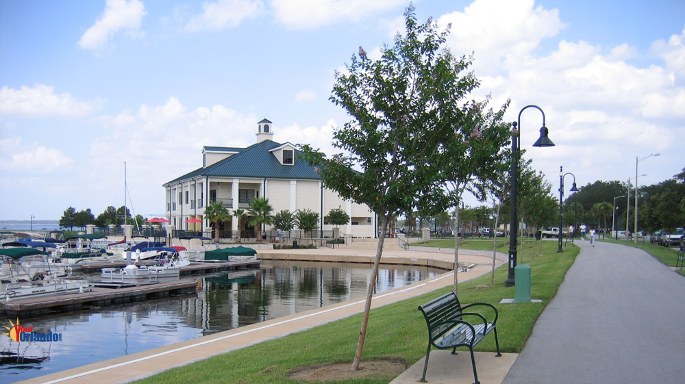 Boat Dock near New D.R. Horton Homes in St. Cloud, FL