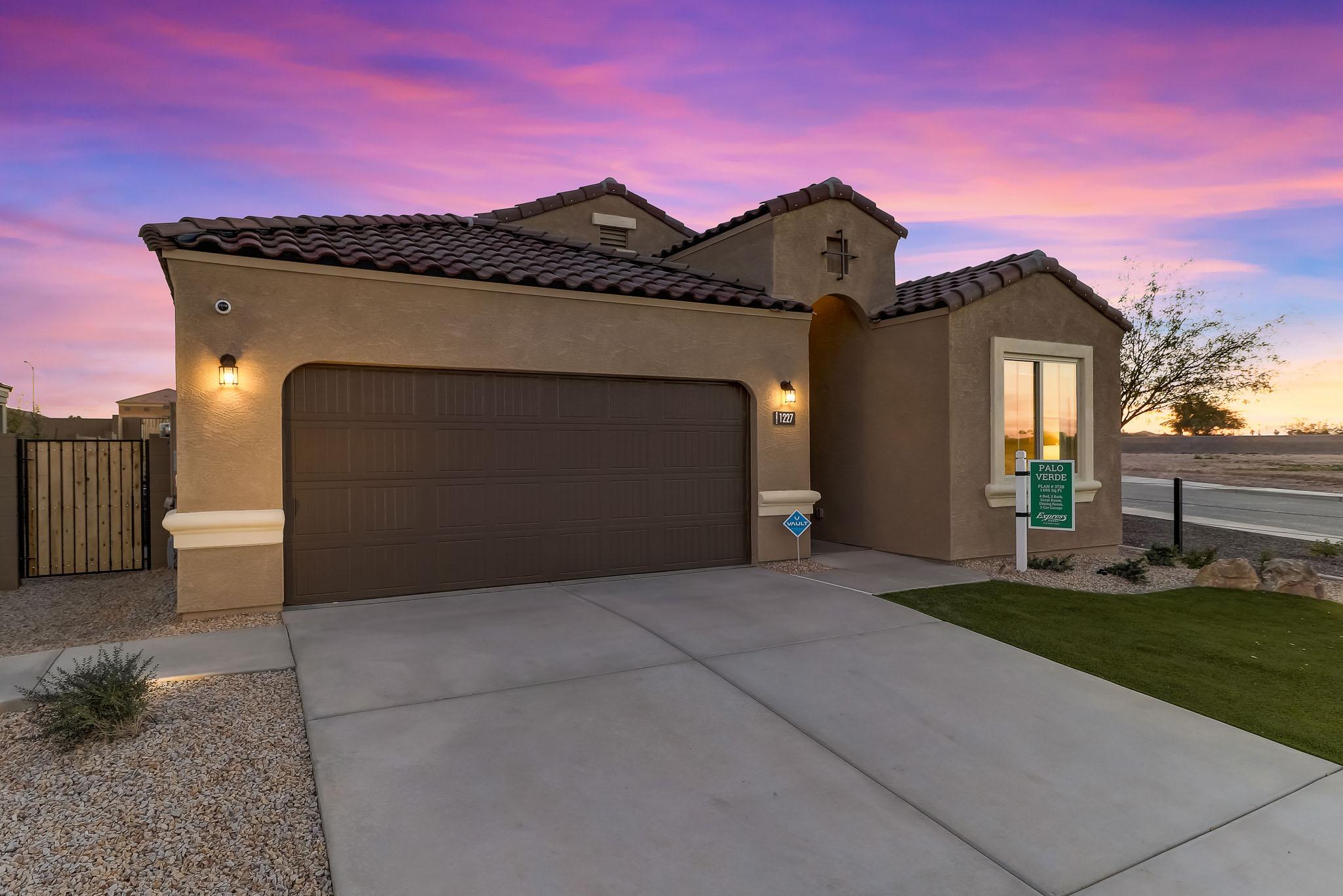 D.R. Horton Cottonwood Ranch Palo Verde Single Family Home for Sale