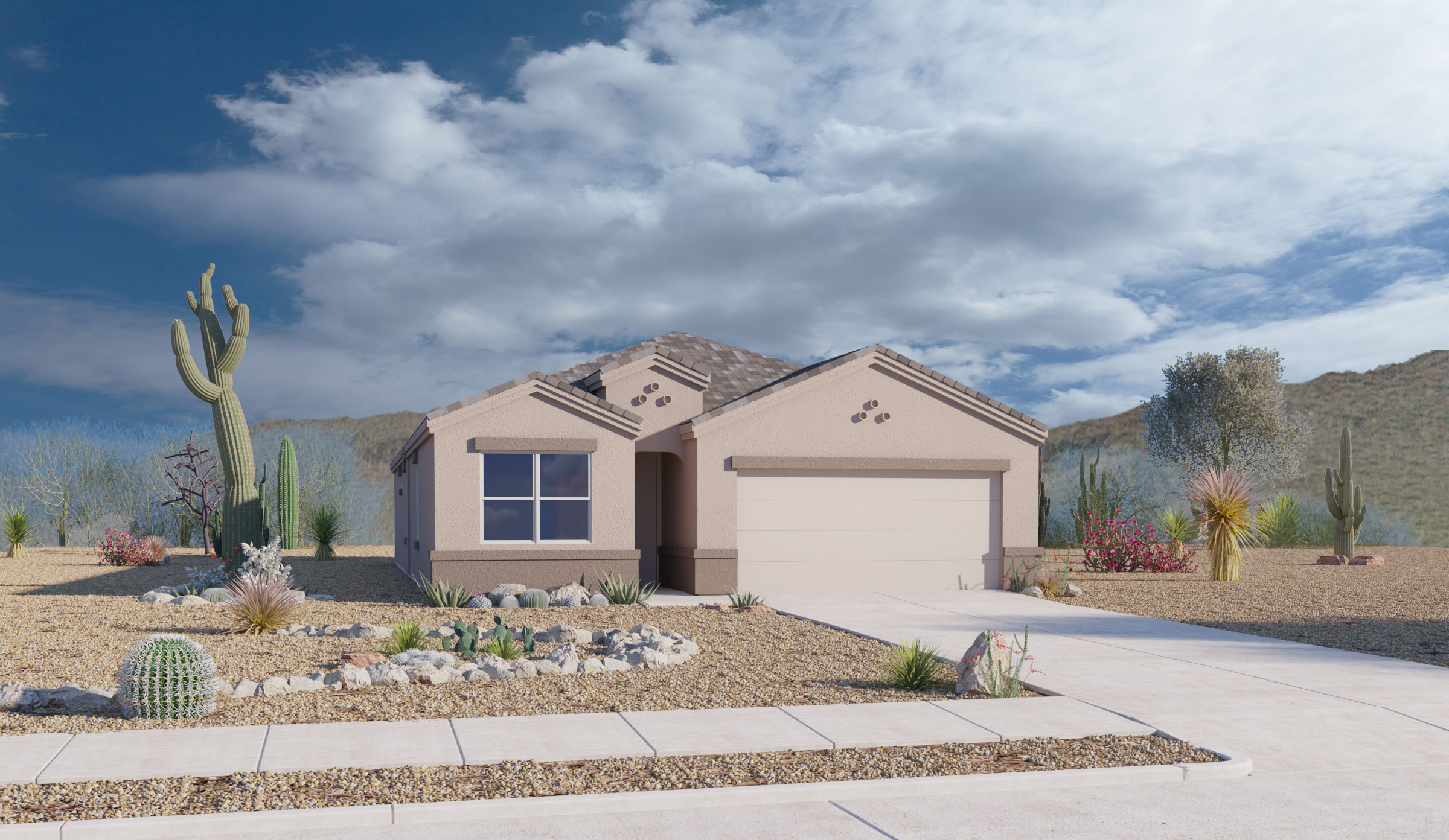 D.R. Horton Saguaro Bloom Mesquite Jackson – Plan 3540 Single Family Home for Sale